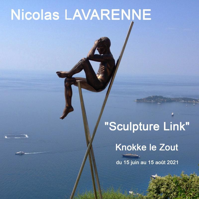Nicolas Lavarenne - Sculpture Link - 2021