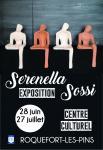 Serenella Sossi à Roquefort Les Pins