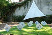Installation Villa Roc-Fleuri à Cap d'Ail / avec le collectif No-made