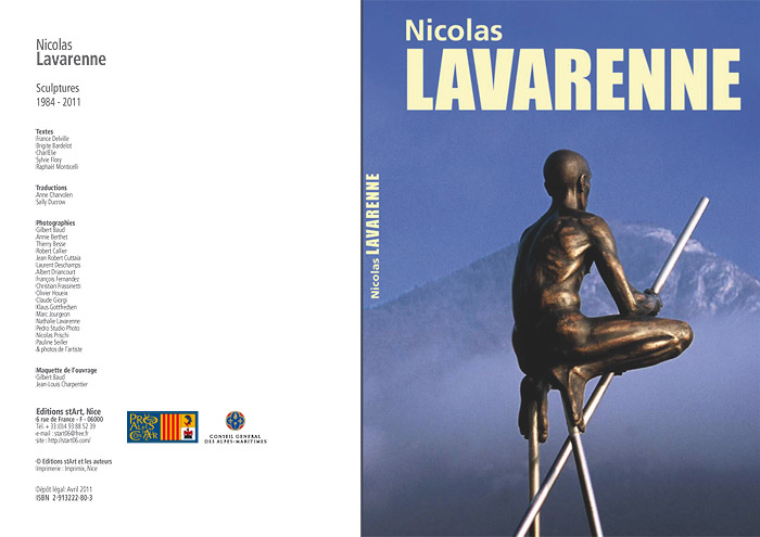 Dition Nicolas Lavarenne : Sculptures  1984 - 2011